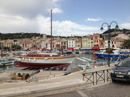 This is the port in Cassis where we had a massive and delicious lunch.