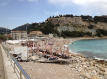 Cassis is a beach town...