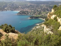 ...for a view of Cassis from above...