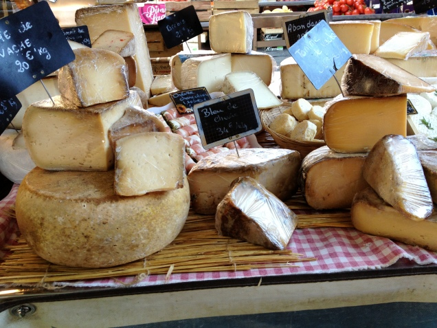 We love cheese ... just another reason to fall in love with Provence.