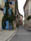 The exquisite hillside village of Gigondas is everything our friend described ...
