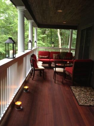 ...on Mimi's porch...