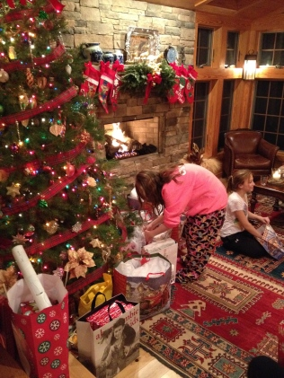 …a grandchild takes it into her own hands!