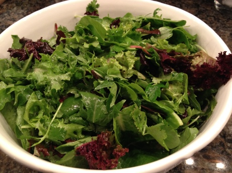 Salad is always a hit -- so healthy!