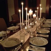 ... we gather for dinner.