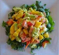 Mimi's lobster salad