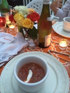 Karen's killer gazpacho.